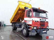 Camión volquete Scania 112