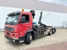 Camión Gancho portacontenedor FM12-340 6x2/4 FM12-340 6x2/4, Lenk-/Liftachse, Kran Palfinger PK9501, Funk