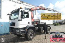 Kamion MAN TGM TG-M 18.340 4x4 BB 2-Achs Allradkipper Kran 4xAusschub trojitá korba použitý