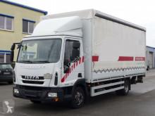 Camión Iveco Eurocargo *Eurocargo 80E18*Euro 5*TÜV*LBW*Klima*Bordwände* lona corredera (tautliner) usado