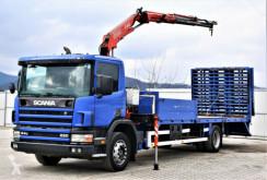 Camion dépannage Scania 94 220 Abschleppwagen 7,50m + Kran! Topzustand!
