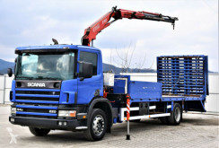 Camion soccorso stradale Scania 94 220 Abschleppwagen 7,50m + Kran! Topzustand!