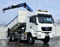 Camion MAN TGS 33.480 Tipper 5,00 m + Kran * 6x4! plateau occasion