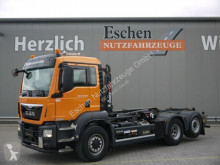 Camión Gancho portacontenedor MAN TGS TGS 26.400 6x4 H-4BL*Multilift XR21S51*Lift/Lenk