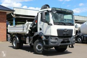 Camion plateau ridelles MAN TGM TGM 18.320 4x4 Euro6d Hiab X-HiDuo 138DS-3
