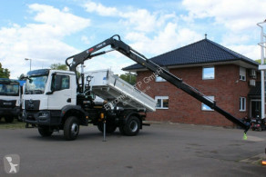 Camión volquete volquete trilateral MAN TGM TGM 18.320 4x4 Euro6d Hiab X-HiDuo 138DS-3