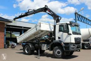 Camión volquete MAN TGM TGM 18.320 4x4 Euro6d Hiab X-HiDuo 138DS-3