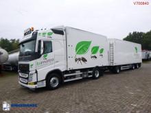 Lastbil med släp Volvo FH13 flak begagnad