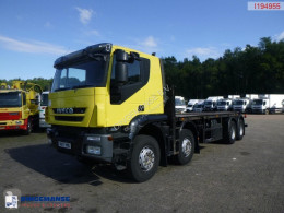 Camion Iveco AT340T45/P RHD + Pesci SPE 560-3 plateau occasion