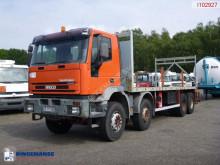 Camião Iveco Cursor 350 estrado / caixa aberta usado