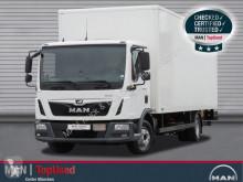 Camión furgón MAN TGL 12.250 4X2 BL, Koffer, LBW, 7,1Meter, Klima