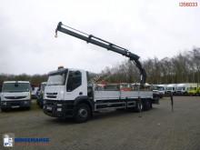Iveco plató teherautó AD260S31Y RHD + Hiab 244 EP-3 HiDuo