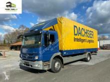 Mercedes tarp truck 1224 Pritsche + LBW/EURO 5 /Klima