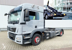 Camión Gancho portacontenedor MAN TGM 15.290 4x2 BL 15.290/340 4x2 BL, Retarder, LX-Fahrerhaus, City-Abroller