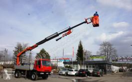 Camión caja abierta Iveco 140E18 4x4 PALFINGER PK 16502 DRILL Kran Cran