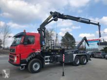 Camião estrado / caixa aberta Volvo FM 400 6x6 Euro 5 Cran Hooklift Winch