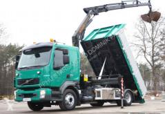 Camión volquete Volvo FL 280 4x2 EURO 5 Palfinger PK 12001 Kran Tiper