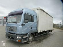 MAN ponyvával felszerelt plató teherautó TGL 12.240 TGL,Gardine,LBW,1xBett,Klima,S