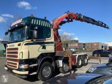 Lastbil platta Scania R 480