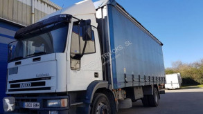 Camión tautliner (lonas correderas) Iveco Eurocargo 150 E 24 tector