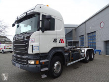 Lastbil Scania R 620 polyvagn begagnad