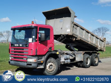 Scania P114 truck used two-way side tipper