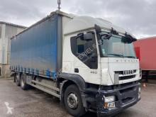 Lastbil skjutbara ridåer (flexibla skjutbara sidoväggar) Iveco Stralis 450