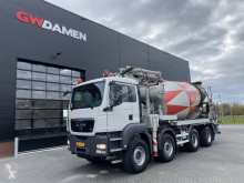 MAN TGS truck used concrete mixer + pump truck concrete