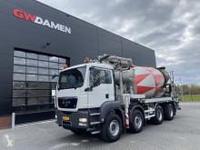 MAN betonkeverő + pumpa beton teherautó TGS