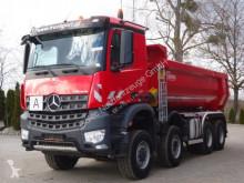 Lastbil Mercedes Arocs 4145 8x6 EURO6 Muldenkipper Carnehl flak begagnad