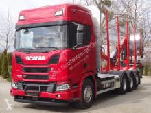 Camion grumier Scania R R500 XT 8x4 EURO6 Holztransporter wie NEU!