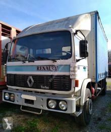 Teherautó Renault Gamme G 260 használt ponyvával felszerelt plató