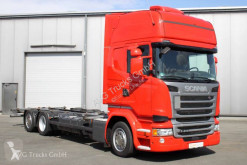 Lastbil Scania R 410 6X2 BDF Jumbo Topline Standklima etade chassis brugt
