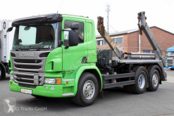 Scania emeletes billenőkocsi teherautó P 410 6X2*4 Meiller AK16 MT Funk Lenkachse
