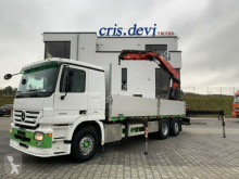 Kamion plošina bočnice Mercedes Actros 2555 6x2 V8 Fassi F290 | Retarder | Euro 5