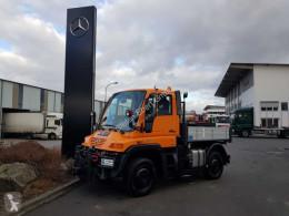 Camion cassone fisso Unimog Mercedes-Benz U300 4x4 Hydraulik Standheizung