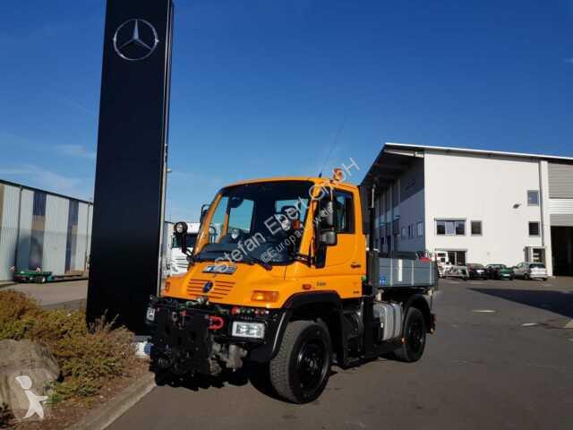 Voir les photos Camion Unimog UNIMOG U300 4x4 Hydraulik Standheizung Klima
