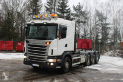 Camion polybenne Scania G480 LB 8x4 Hook truck
