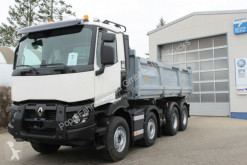 Camión Renault C-Series C480 8x4 Meiler DSK*Bordmatic, volquete volquete trilateral usado