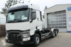 Camion multibenne Renault T-Series T480 6x2 Abroller Meiler RS21.70,I.S.A.R,VEB+*