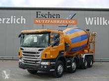 Teherautó Scania P P 360 8x4, 9 m³ Intermix, Klima, Manuell, EUR5 használt betonkeverő beton