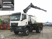 Camión volquete MAN TGM 3 18.320 4x4 BB 2-Achs Allradkipper Kran Funk+Greiferst.