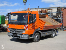 Mercedes three-way side tipper truck Atego 818 K 2-Achs Kipper