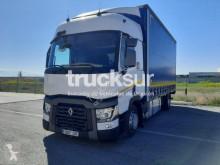 Renault ponyvával felszerelt plató teherautó T460 R4X2