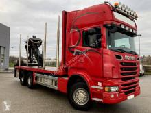 Camião transporte de madeira Scania R 620