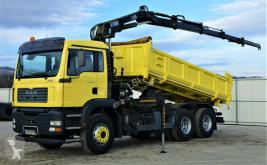 Camião estrado / caixa aberta MAN TGA 28.350 Kipper 5,20 m + Kran/Funk*6x4