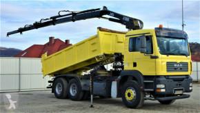 MAN TGA 28.350 Kipper 5,20 m + Kran/Funk*6x4 truck used tipper