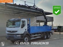 Lastbil Renault Kerax 380 flatbed brugt