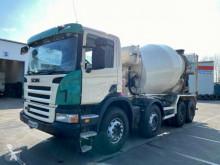 Camion béton toupie / Malaxeur Scania P P380 8x4 Betonmixer Liebherr 9cbm