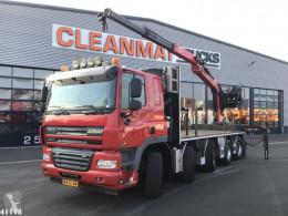 Camion plateau Ginaf X 5250 TS 10x4 Palfinger Rijplatenwagen Radiografisch bestuurbaar met 17 ton/meter laadkraan